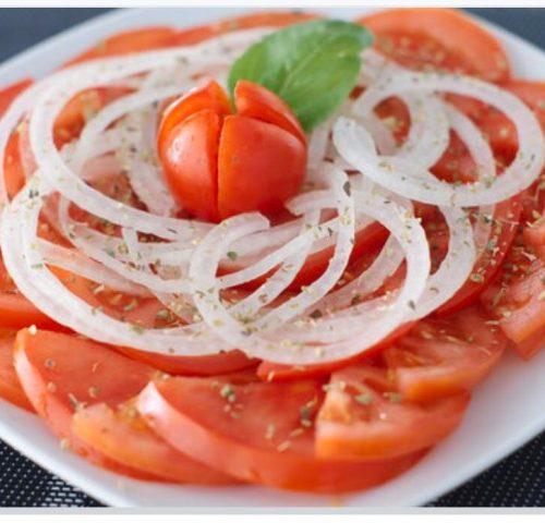 Salada Tomate e Cebola